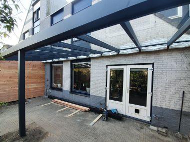 Veranda aluminium - Timmerbedrijf van der Meij